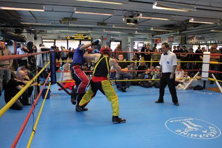 Kampsport – Kickboxning/Thaiboxning
